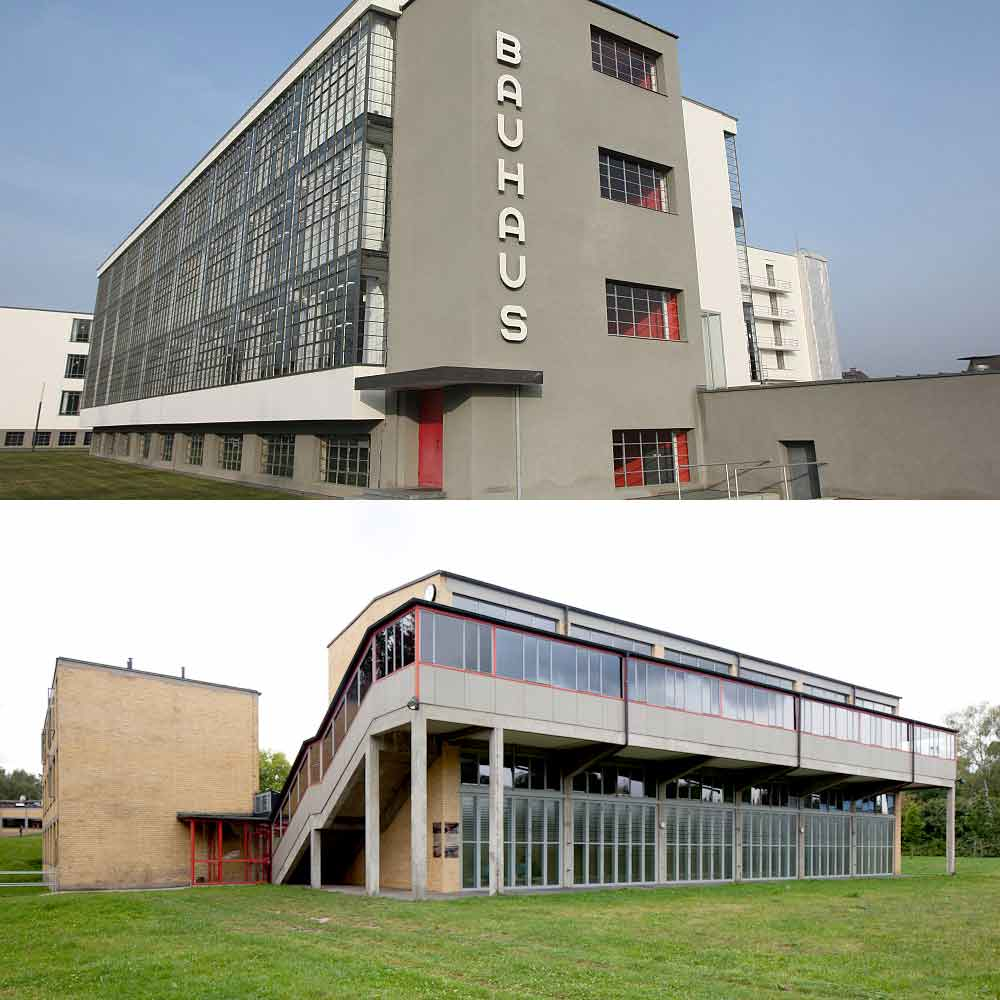 Bauhaus Dessau Gropius Bundesschule Bernau Meyer