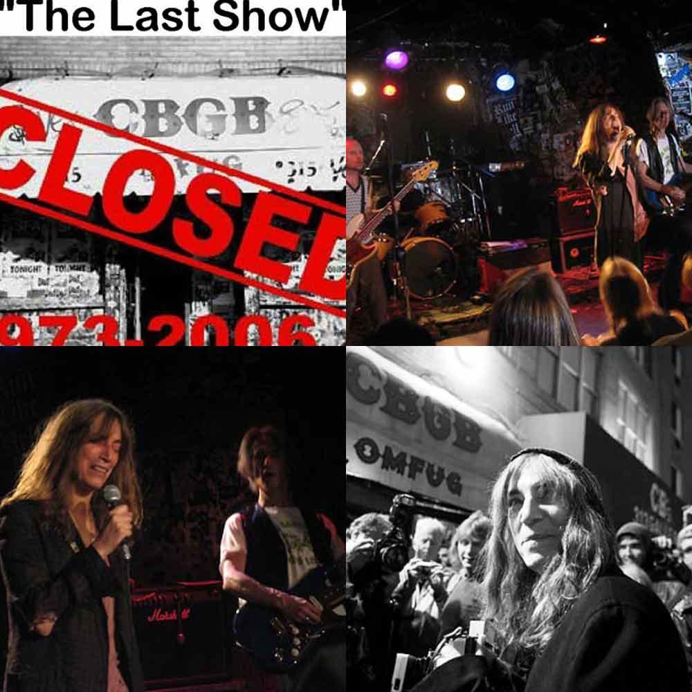 NY Punk Scene CBGB Smith