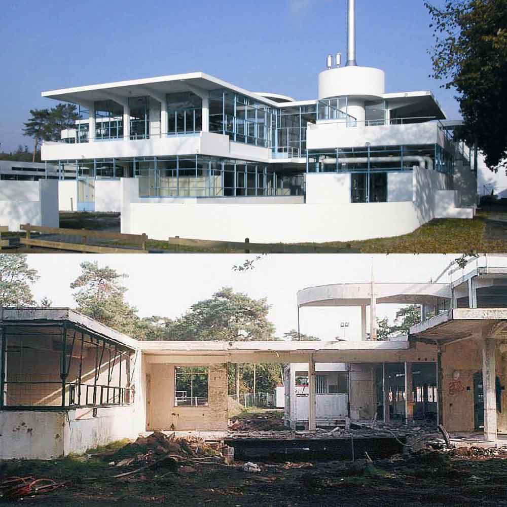 Zonnestraal architectuur Duiker nieuwe bouwen