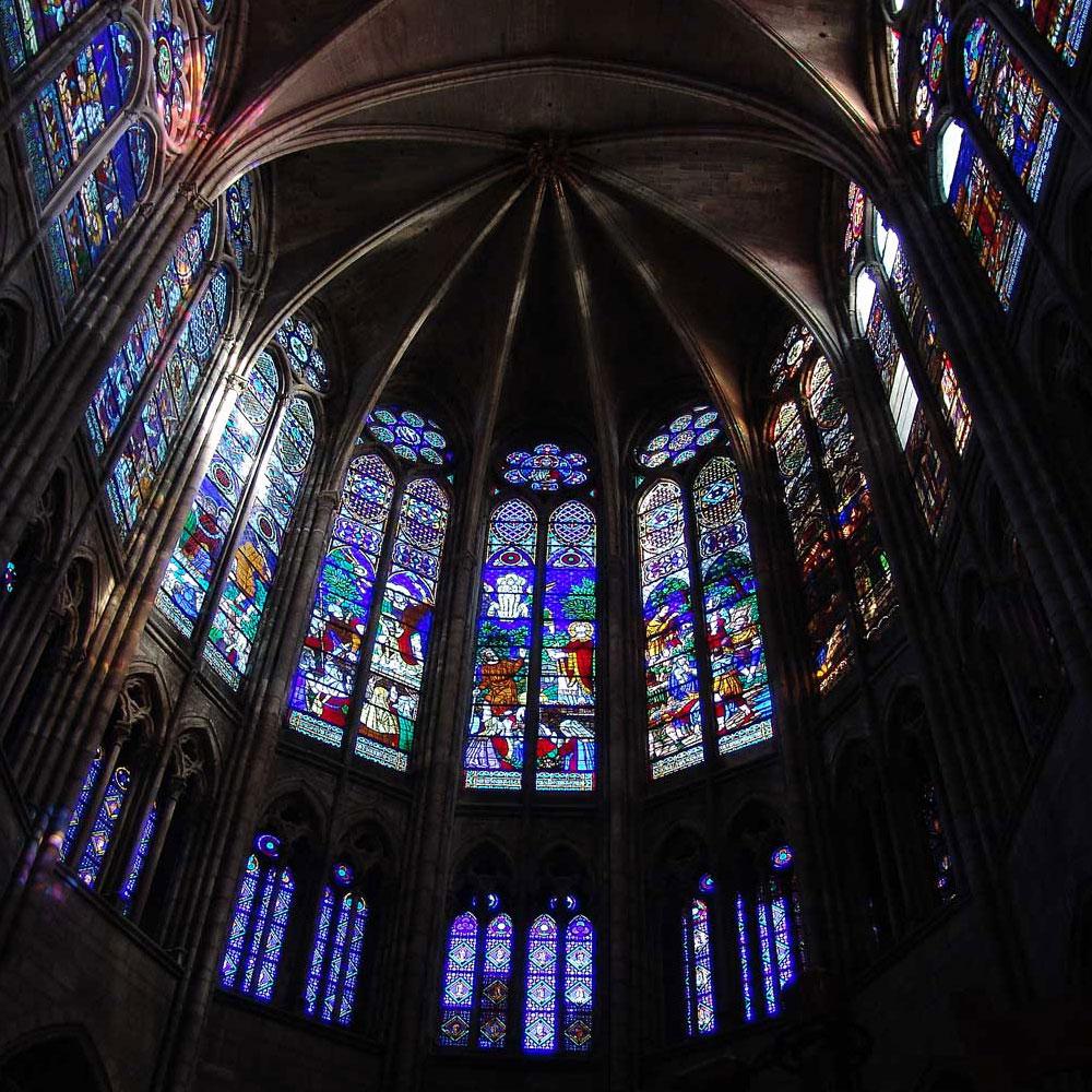 geestelijk stoffelijk licht Plato Saint Denis